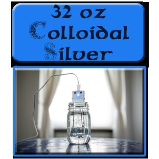 32 oz Colloidal Silver 15ppm