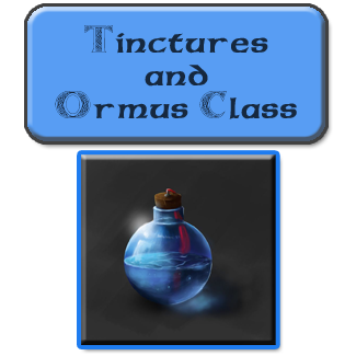 tinctures and ormus