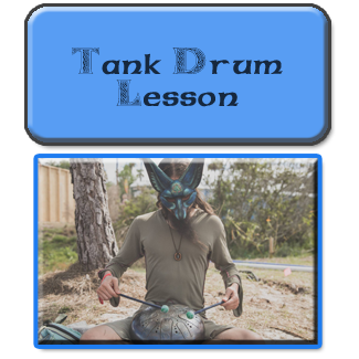 tank drum sound healing lesson