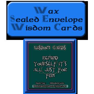 wax wisdom cards deck